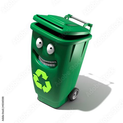 Poubelle de recyclage - Poubelle recyclage maison ...