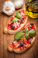 Bruschetta Italiana - Antipasto italiano