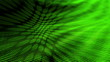 Green Flowing Abstract Looping Animated Background