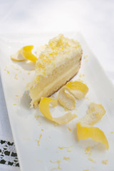 Elegant lemon cake