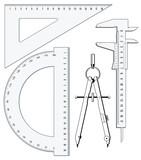 Fototapety Geometrie Präzision