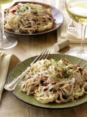 Linguini pasta with cauliflower
