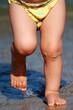 Kinderbeine - am Strand
