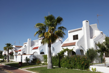 Residential buildings in Matalascanas, Andalusia Spain