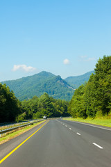 Parkway in North Carolina