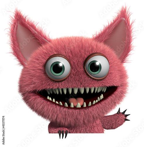 furry monster - 43371174