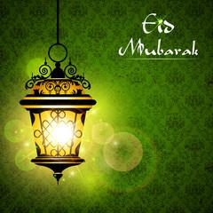 Iluminated Lamp on Eid