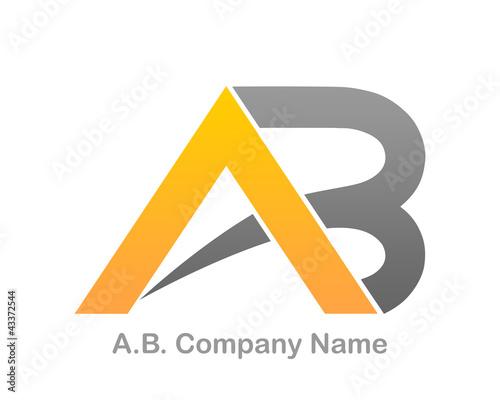 A.B. Company Logo