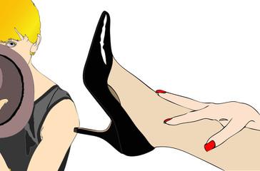 Amanti e scarpe
