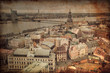 Vintage style photo. Riga. Latvia