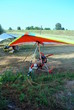 colorful hang gliders ready for the take off - 43376705