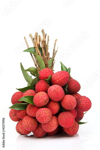 Fresh of litchi fruit