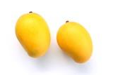 Ripe golden mangoes