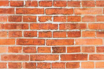 Fassade aus Backsteinen
