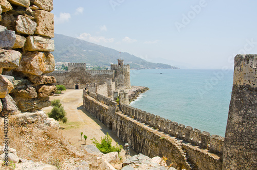 Mamure (Anamur) castle ruins, Turkey - 43387700