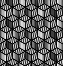 Geometrycznych powtarzalne tekstury w projektowaniu op art.
