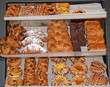 A Lovely Display of Freshly Baked Danish Pastries.
