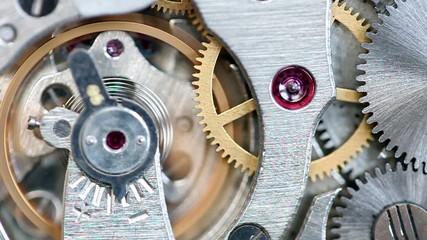 Analog clock mechanic
