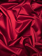 canvas print picture - Roter Satin