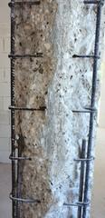 Pilastro in cemento armato da rinforzare