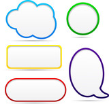 Option speech bubbles.