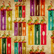 Abstract food vintage background
