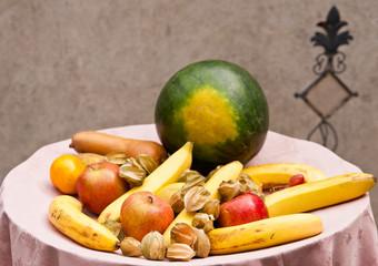 Obstteller, Fruits