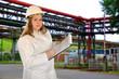 Frau im Beruf Chemiker