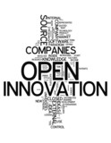 "Word Cloud ""Open Innovation"""