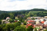 panorama of Krynica with sanatories and pensions - 43401586