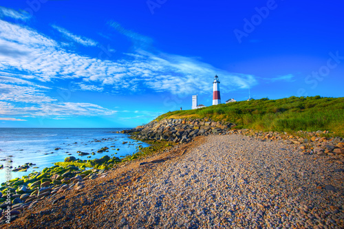 Foto op Aluminium Vuurtoren / Mill Montauk Lighthouse