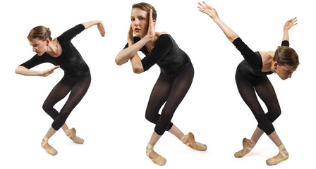 Modern Dancer Poses Series