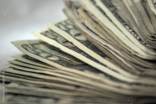 US Money Stack Background 2