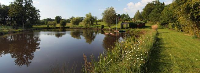 Pond panorama
