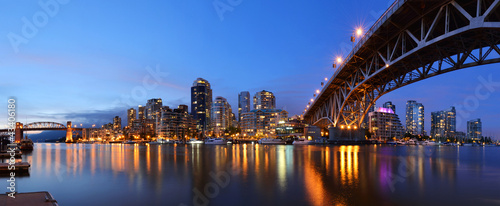 Granville Bridge and Downtown Vancouver - 43406180