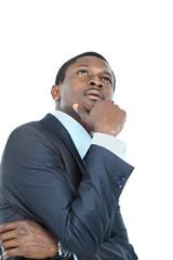 Portrait of African American businessman