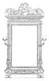 Psyché Mirror- beginning 19th century