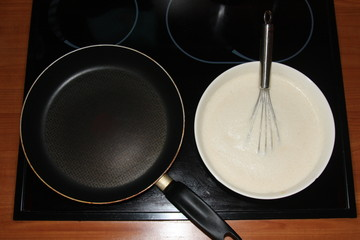 Batter and the frying pan