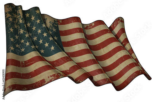 USA Historic Flag