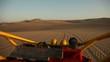 Geländewagen (Buggy) in Wüste