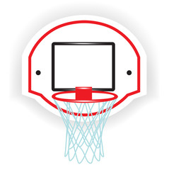 single basketball ring