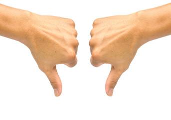 2 Thumb Down