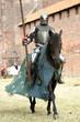 Leinwandbild Motiv Knight on horse