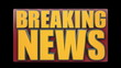 Breaking News Animated Title Graphic