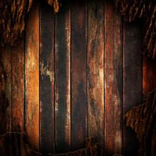 Rugueux Fond en bois