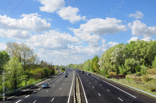 Autoroute française - Highway in France