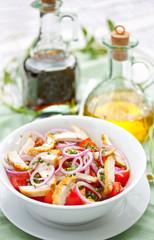 Chicken and Tomato Salad