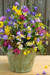 Wildblumen und -kräuter