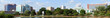 Panoramic cityscape of Huntsville, Alabama