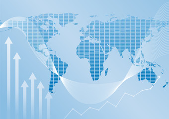Global finance background